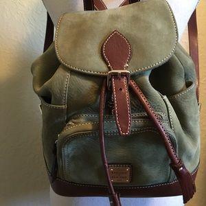 Dooney & Bourke Backpack Purse Olive